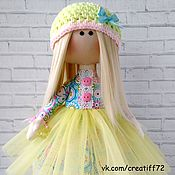 Куклы и игрушки ручной работы. Ярмарка Мастеров - ручная работа Кукла текстильная Лили. Handmade.