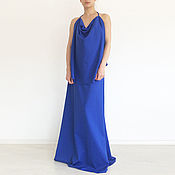 Одежда handmade. Livemaster - original item Blue dress, Long pate, Maxi Dress, Dress the bridesmaids. Handmade.