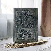 Канцелярские товары handmade. Livemaster - original item School diary steam punk. Handmade.