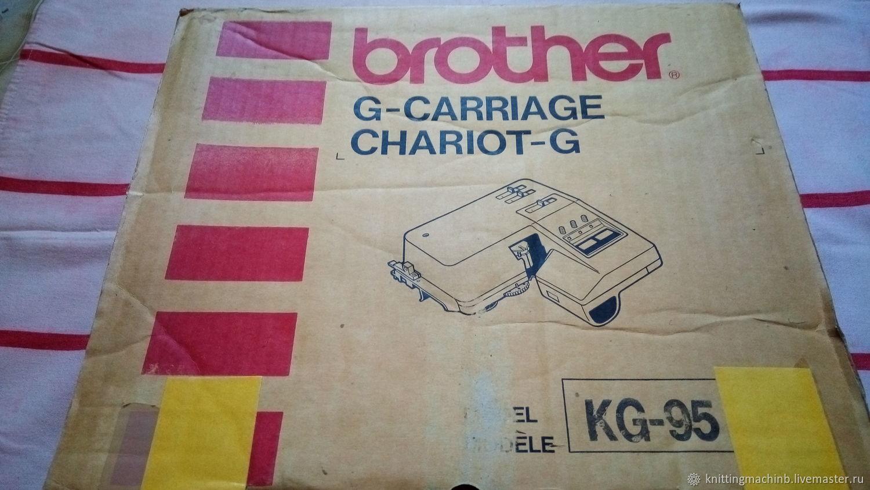 Вязальная машина. Робот - каретка Brother KG 95, Инструменты для вязания, Москва,  Фото №1
