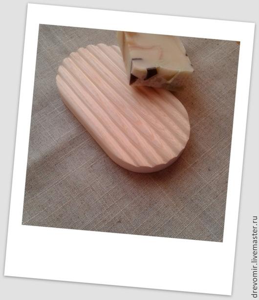 Ванная комната ручной работы. Ярмарка Мастеров - ручная работа. Купить Мыльница из массива дерева.. Handmade. Белый, эко изделия