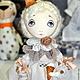 Коллекционные куклы ручной работы. Ярмарка Мастеров - ручная работа. Купить Мороженое бывает разным...... Handmade. Белый, выкройки