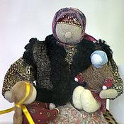 """Куклы и игрушки ручной работы. Ярмарка Мастеров - ручная работа Коллекционная кукла """"Зима.Бабушкины сказки"""". Handmade."""