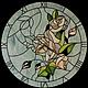 """Часы для дома ручной работы. Ярмарка Мастеров - ручная работа. Купить Настенные часы """"Чайная роза"""". Handmade. Разноцветный, часы"""