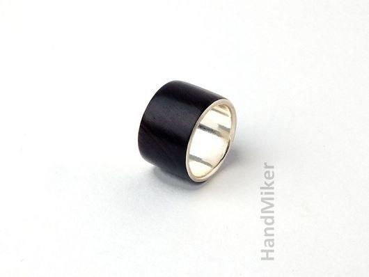 """Кольца ручной работы. Ярмарка Мастеров - ручная работа. Купить Кольцо """"Big. Black. Bold"""". Handmade. Черный, большой, black"""