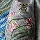 """Обувь ручной работы. Тапочки """"Орхидейки"""". Семейная мастерская Сергеевых. Ярмарка Мастеров. Тапочки из шерсти, орхидеи, Замша натуральная"""