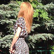 Одежда ручной работы. Ярмарка Мастеров - ручная работа Костюм летний, юбка-футляр и топ. Handmade.