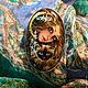 Кулоны, подвески ручной работы. ,,Глазами ночи,, кулон,серьги,кольцо. Наталья Орлова. Ярмарка Мастеров. Кольцо