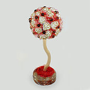 Цветы и флористика handmade. Livemaster - original item Tree-topiary of smoky quartz