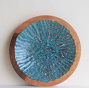 """Посуда ручной работы. Ярмарка Мастеров - ручная работа Декоративная тарелка """"Laut"""". Handmade."""