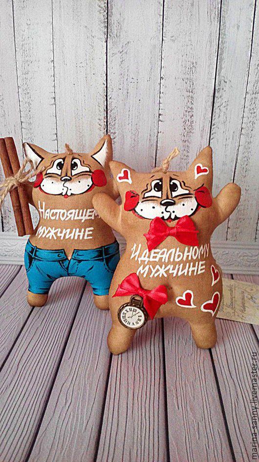 Ароматизированные куклы ручной работы. Ярмарка Мастеров - ручная работа. Купить Кофейный кот(Идеальный мужчина). Handmade. Коричневый, кот