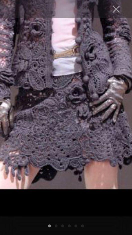 """Костюмы ручной работы. Ярмарка Мастеров - ручная работа. Купить Вязаный костюм """" После дождя """". Handmade."""