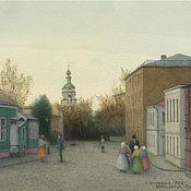 Картины и панно handmade. Livemaster - original item Paintings posters to buy on canvas Moscow Krutitskaya street. Handmade.