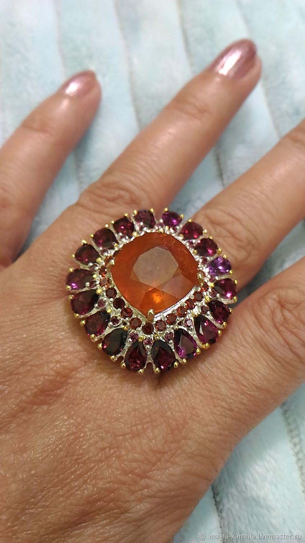 Серебряное кольцо Сандра 8, Кольца, Белая Калитва,  Фото №1