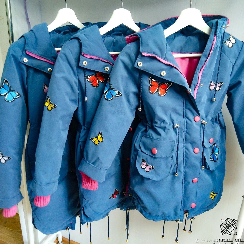 Весенняя парка с бабочками, Верхняя одежда, Пенза,  Фото №1