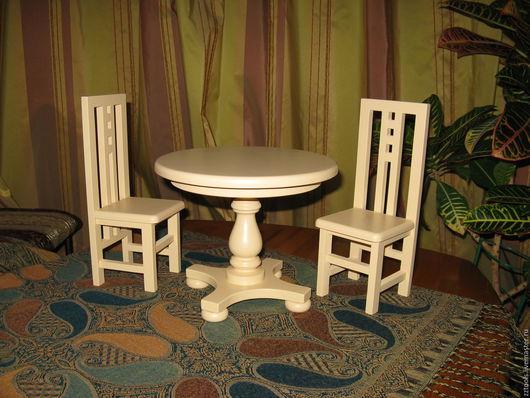 Кукольный дом ручной работы. Ярмарка Мастеров - ручная работа. Купить Комплект мебели для кукол. Handmade. Комлект мебели, комплект