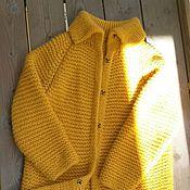 Одежда ручной работы. Ярмарка Мастеров - ручная работа Пальто из шерсти с альпакой.. Handmade.