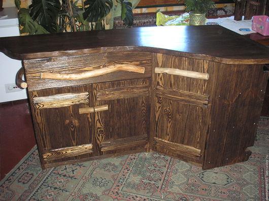Мебель ручной работы. Ярмарка Мастеров - ручная работа. Купить Деревянная кухня под старину. Handmade. Кухня, сосна