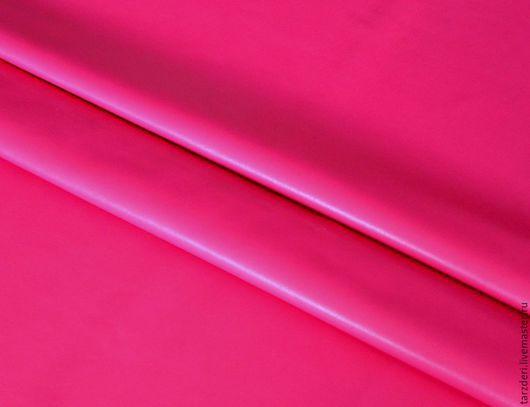 Шитье ручной работы. Ярмарка Мастеров - ручная работа. Купить Натуральная кожа Розовая фуксия 0,55 мм. Handmade.