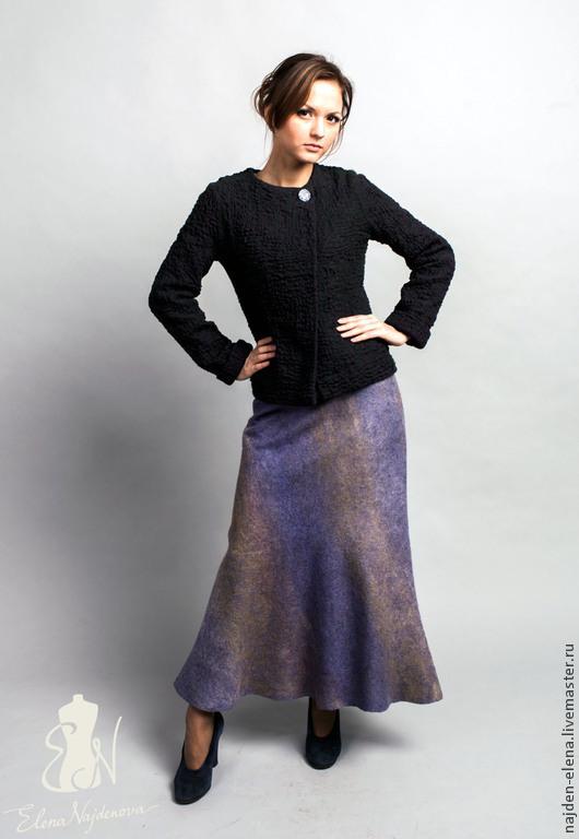 Юбки ручной работы. Ярмарка Мастеров - ручная работа. Купить валяная юбка. Handmade. Юбка, теплая одежда, шерсть меринос