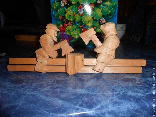 Игрушки животные, ручной работы. Ярмарка Мастеров - ручная работа. Купить Деревянная игрушка. Handmade. Богородская, игрушка, деревянная