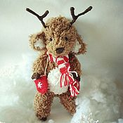 Stuffed Toys handmade. Livemaster - original item Soft toys: Crochet Deer toy and the gift. Handmade.