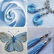 Украшения handmade. Livemaster - original item Fairytale earrings with Majorcan pearls. Handmade.