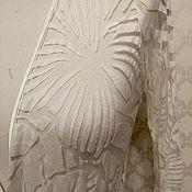Одежда ручной работы. Ярмарка Мастеров - ручная работа Длинная накидка Тропический лес. Handmade.