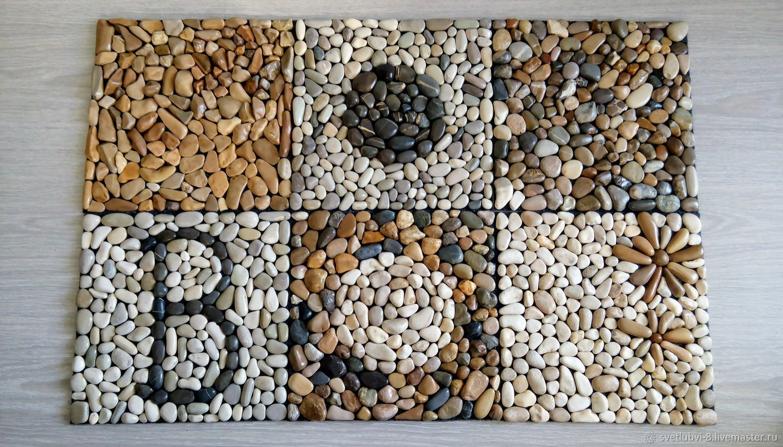 Плитка из морских камней своими руками 46