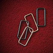Материалы для творчества ручной работы. Ярмарка Мастеров - ручная работа Рамки для сумок 38мм. Handmade.