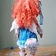 Коллекционные куклы ручной работы. Алиса. Текстильная игровая кукла... Анна Талалайко. Ярмарка Мастеров. Лён