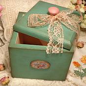 Для дома и интерьера handmade. Livemaster - original item Box for tea and sweets