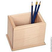Канцелярские товары handmade. Livemaster - original item Sell out all summer! Blank pencil holder 151012 for decoupage painting. Handmade.