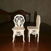 Куклы и игрушки handmade. Livemaster - original item Furniture for dolls: Doll high chair 1565. Handmade.