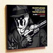 Картины и панно handmade. Livemaster - original item Picture Poster Rorschach Comic