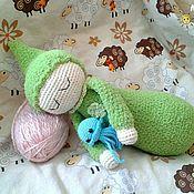 Куклы и игрушки ручной работы. Ярмарка Мастеров - ручная работа Гномик Засыпайка (Сплюшка). Handmade.