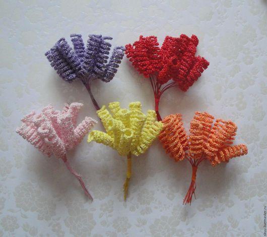 Открытки и скрапбукинг ручной работы. Ярмарка Мастеров - ручная работа. Купить 5 цветов спиральки. Handmade. Комбинированный, цветы таиланд