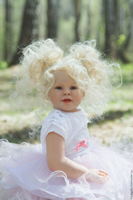 Куклы-младенцы и reborn ручной работы. Ярмарка Мастеров - ручная работа. Купить Ева. Handmade. Комбинированный, энн теммерман