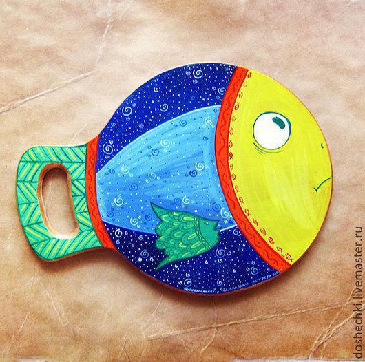 Кухня ручной работы. Ярмарка Мастеров - ручная работа. Купить Рыба, которая много знала (Сделаю на заказ). Handmade. Рыба