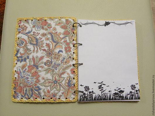 Блокноты ручной работы. Ярмарка Мастеров - ручная работа. Купить блокнот. Handmade. Рыжий, блокнот для девушки, нежный, фетр