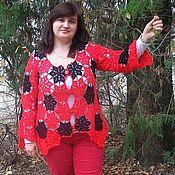 Одежда handmade. Livemaster - original item Сardigan sweaters for ladies Women`s sweater handmade. Handmade.