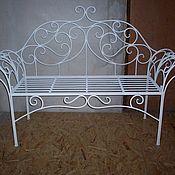 Для дома и интерьера ручной работы. Ярмарка Мастеров - ручная работа Кованая диванчик под заказ. Handmade.