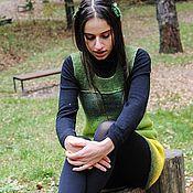 Одежда ручной работы. Ярмарка Мастеров - ручная работа Forest People. Сарафан.. Handmade.