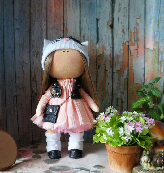 Коллекционные куклы ручной работы. Ярмарка Мастеров - ручная работа. Купить Rock&Kisa. Handmade. Бежевый, кукла Тильда, интерьерная игрушка