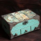 Для дома и интерьера handmade. Livemaster - original item Jewelry box