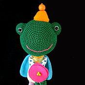 Куклы и игрушки ручной работы. Ярмарка Мастеров - ручная работа Принц Лягух. Handmade.