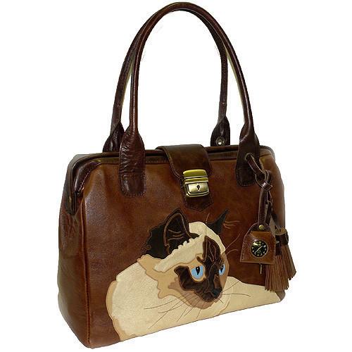 Женские сумки ручной работы. Ярмарка Мастеров - ручная работа. Купить Сиамка. Handmade. Женская сумка, с любимым котиком