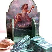 Канцелярские товары handmade. Livemaster - original item perpetual calendar gold fish. Handmade.