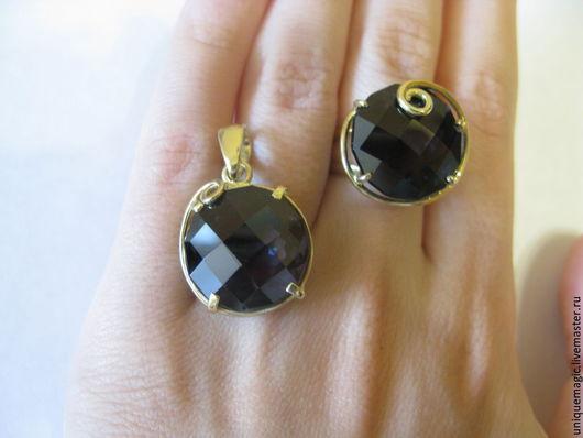 Изящный комплект (кольцо, кулон) с роскошными крупными шпинелями 40.51ct! Кулон есть в продаже, при желании могу переделать в кольцо.