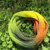 Аксессуары handmade. Livemaster - original item Snood Autumn. Handmade.